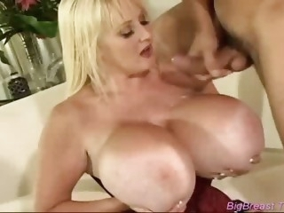 Nasty mommy with the biggest..