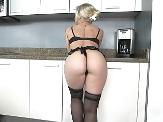 Giant ass oiled