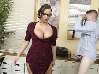 Naughty office employees..