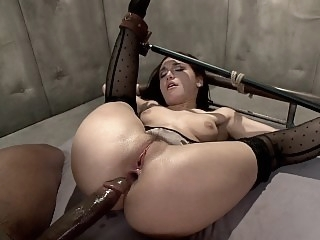 Helpless slutty mom dicked..