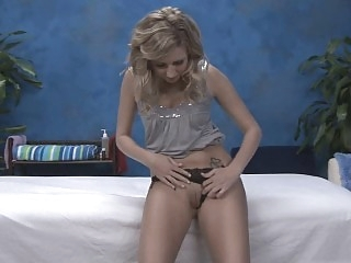 Blonde skinny Massage girl..