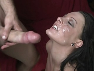 Fucking and taking facial..