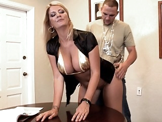 I fucked my boss hard from..